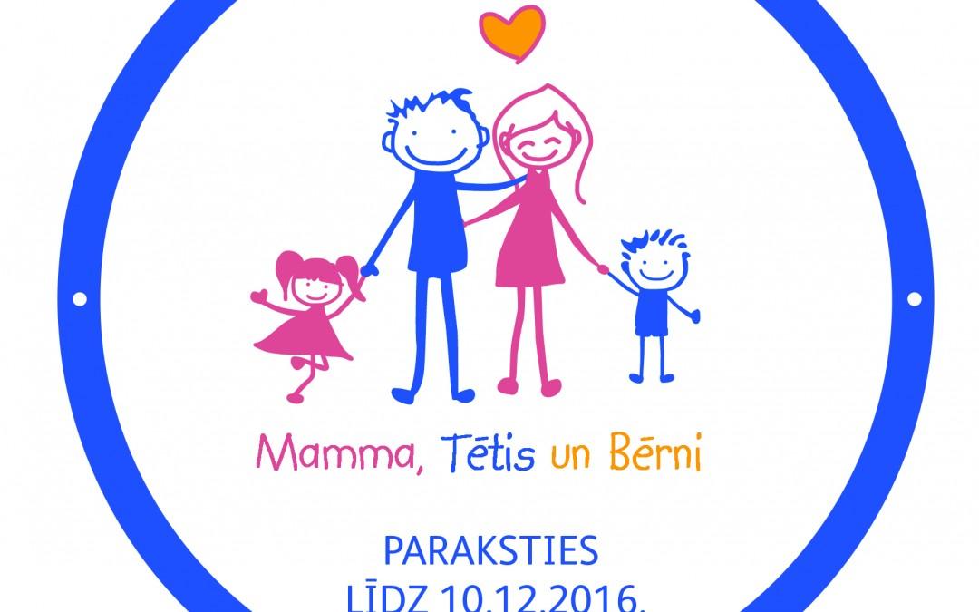 """Seko instrukcijai un paraksties par Eiropas pilsoņu iniciatīvu """"Mamma, Tētis un Bērni"""""""