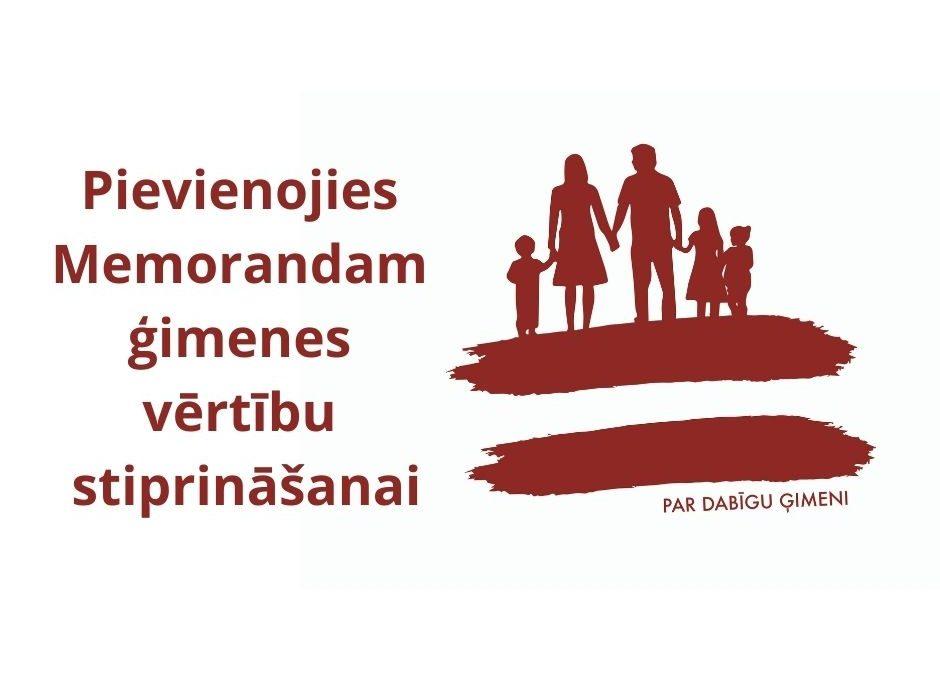 """Vairāk nekā četrdesmit NVO izsaka atbalstu iniciatīvai """"Par dabiskas ģimenes aizsardzības nostiprināšanu Latvijas Republikas Satversmē"""""""