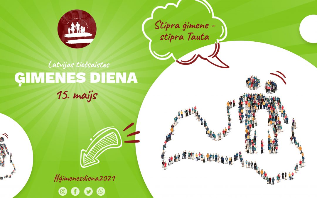 Latvijas Ģimenes dienas pasākums notiks š.g. 15.maijā