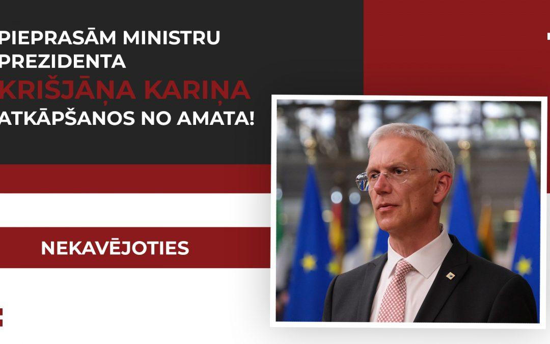 Vairākas Demogrāfijas lietu padomes dalīborganizācijas un vecāku NVO pieprasa Ministru prezidentam K.Kariņam atkāpties no amata